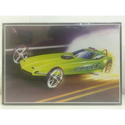 AMT, DIGGER 'CUDA, PLASTIC RACING CAR, AMT-602